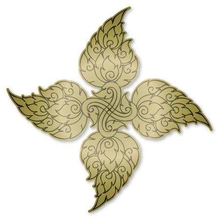 Thai Style symbol Illustration