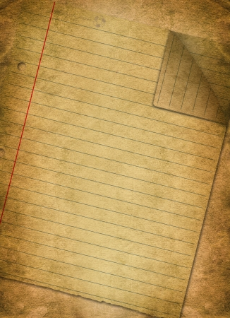 old notebook: Vintage background with old paper