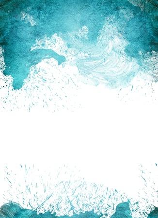 抽象的な水彩画手描きの背景