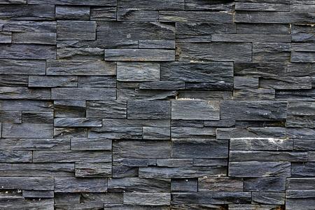 新しいスレートの石の壁 - 背景テクスチャ