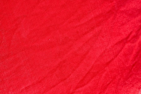 red fabric texture from the market photo