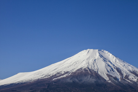 capped: fuji mountain in Japan