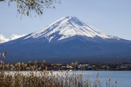 mt fuji: Fuji Mountain at kawaguchiko in Japan