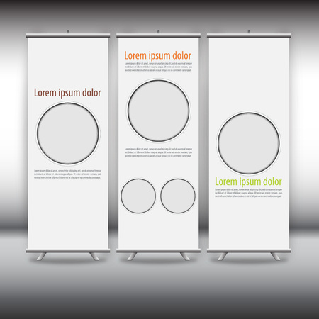 roll up: roll up template, abstract background