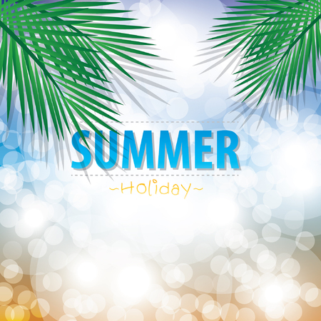 party background: Summer Beach Party background