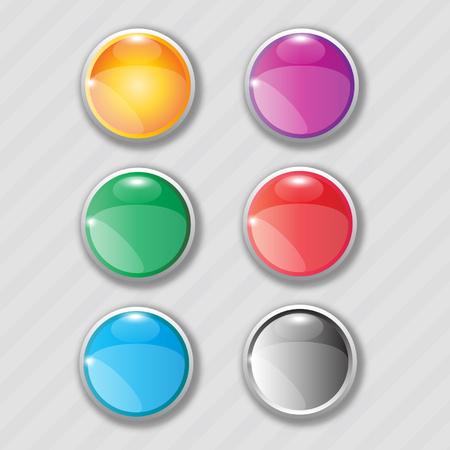 boutons web Arrondis
