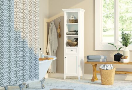 bathroom with natural feel Imagens