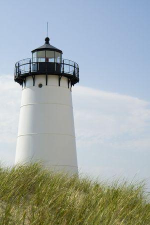 This is the Edgar Harbor Light House Marthas vineyard
