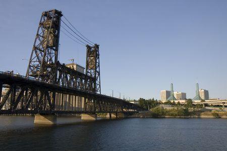 This is the Steel Street Bridge from Portland Oregon photo