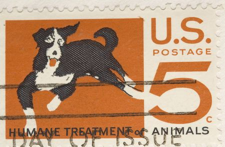Humane: This is a Vintage 1964 Stamp Humane Treatment of Animals