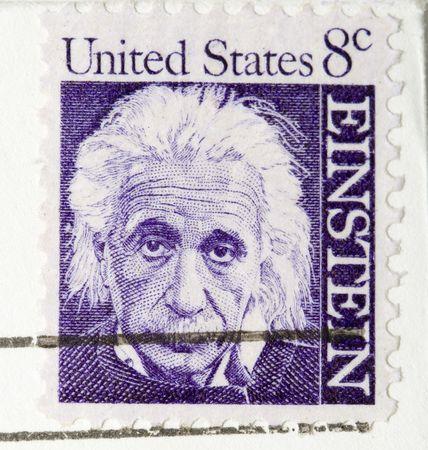 This is a vintage 1964  Stamp Albert Einstein