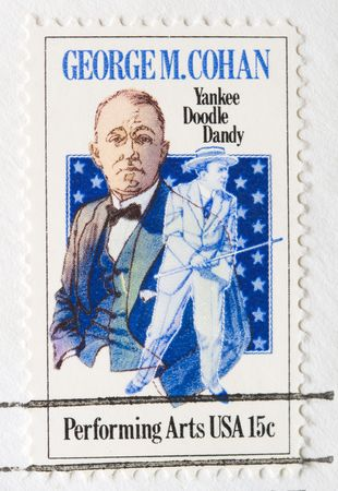 yankee: This is a Postage Stamp GeorgeCohan Yankee Doodle Dandy