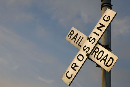This is a Rail Road Crossing