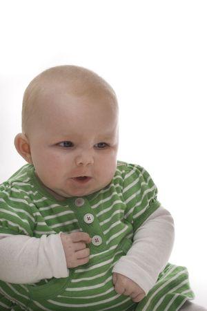 lamentation: Bambino arrabbiato Girl Archivio Fotografico
