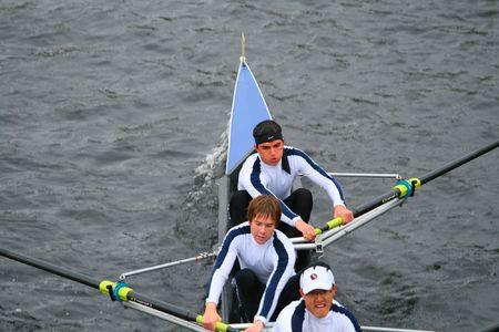 ボストン - 10 月 18 日: 大学男子チームで競合している、チャールズ レガッタの頭部で 2009 年 10 月 18 日にボストン、マサチューセッツ。