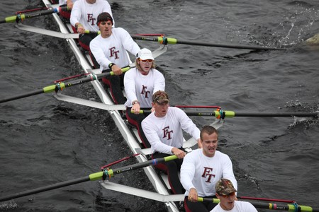institute of technology: BOSTON - OCTOBER 24: Florida Institute of Technology mens Crew competes in the Head of the Charles Regatta on October 24, 2010 in Boston, Massachusetts.