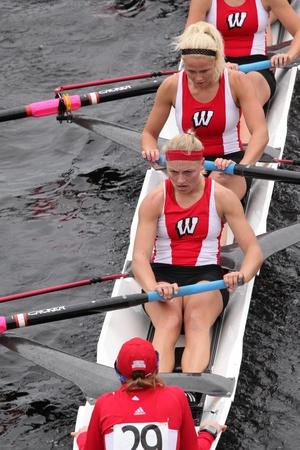 university of wisconsin: BOSTON - OCTOBER 23: University of Wisconsin women