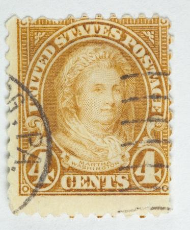 image of Martha Washington. United States - circa 1922-1931