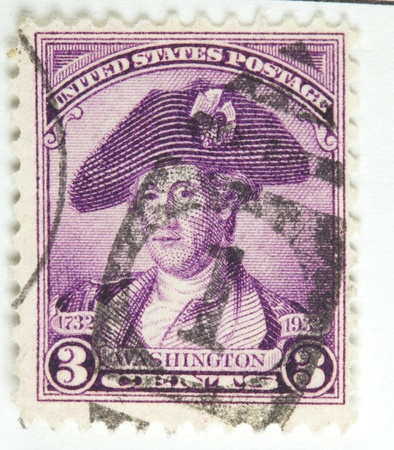 portrait of George Washington. United States - circa 1931