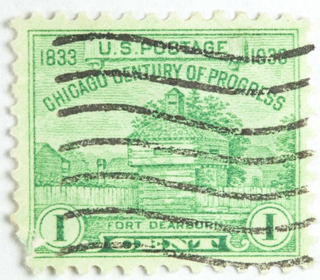 Fort Dearborn Chicago Century of Progress, now Chicago, United States circa 1933