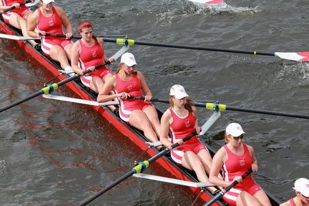 Cornell University races in the Head of Charles Regatta Women\\