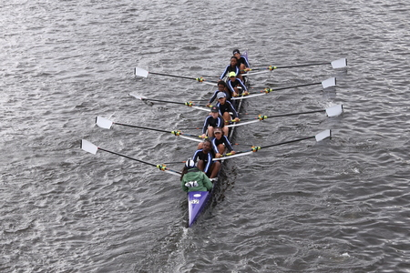 eights: RNY - Queens races in the Head of Charles Regatta Womens Youth Eights BOSTON - OCTOBER 18, 2015 Editorial