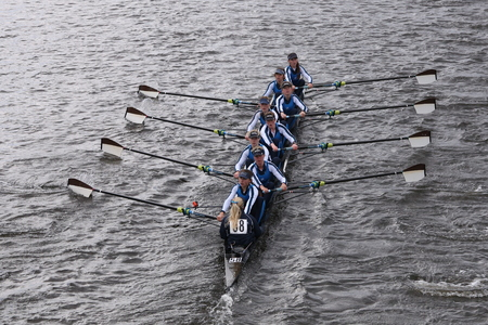 eights: Headington races in the Head of Charles Regatta Womens Youth Eights BOSTON - OCTOBER 18, 2015 Editorial