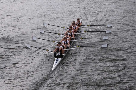 eights: LEBHC races in the Head of Charles Regatta Womens Youth Eights BOSTON - OCTOBER 18, 2015