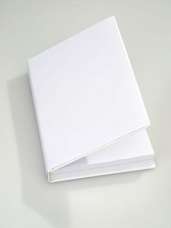 Blanco de cubierta de libro en blanco  Foto de archivo - 6265435