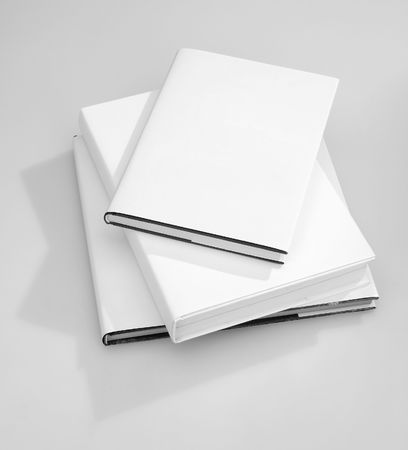 blank magazine: Blank book cover white