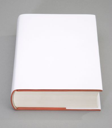 diary: Blank book with white cover