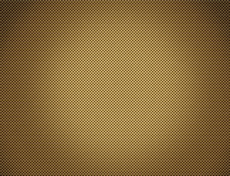 perforated: The Perforated seamless golden metal plate