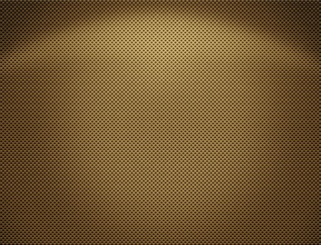 The Perforated seamless golden metal plate  photo