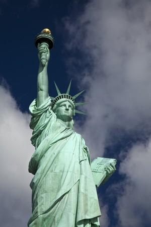 estatua de la justicia: La estatua de la libertad en la ciudad de Nueva York