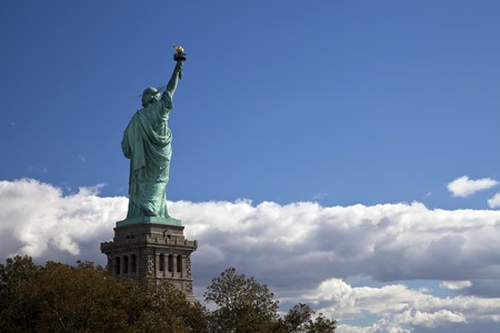 The Statue of Liberty at New York City photo