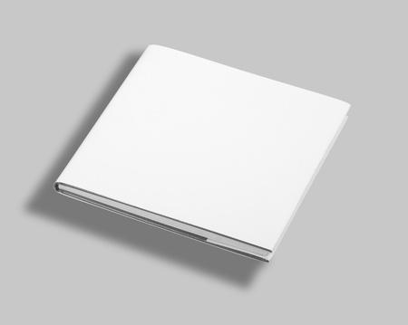 Lege witte boek omslag