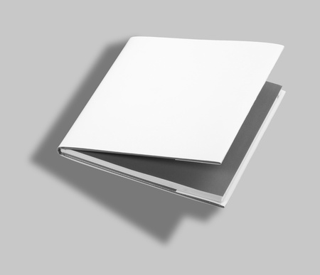 mag: Blank book white cover