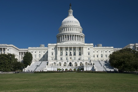 The US Capitol in Washington D.C. Imagens