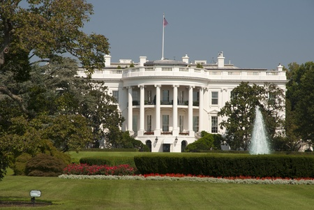 The White House in Washington D.C. Imagens