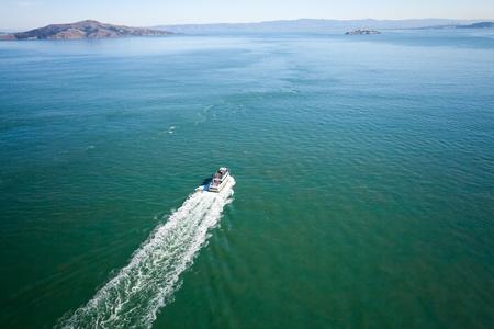 San Francisco bay and Alcatraz Stock Photo - 11801802