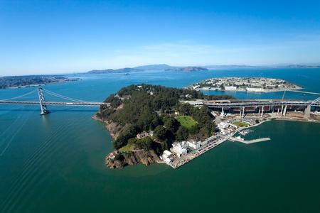 oakland: San Francisco Bay bridge and the Treasury Island