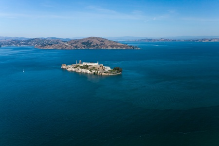 Alcatraz jail in San Francisco bay Stock Photo - 11585812