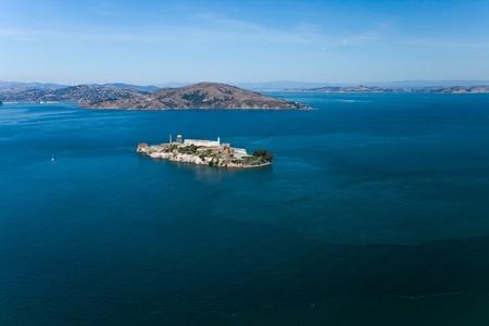 Alcatraz jail in San Francisco bay Stock Photo - 11585812