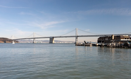 San Francisco Bay bridge photo