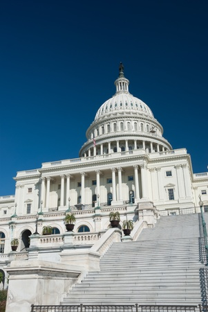 capital building: The US Capitol in Washington D.C. Stock Photo