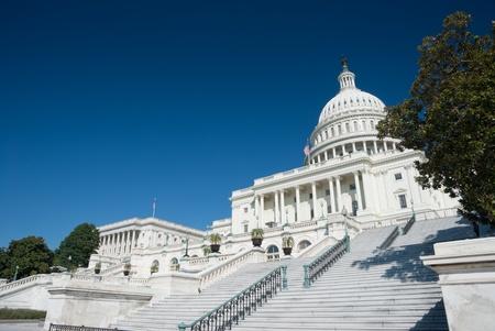 The US Capitol in Washington D.C. Standard-Bild