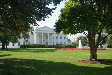 The White House in Washington D.C., the North Gate photo