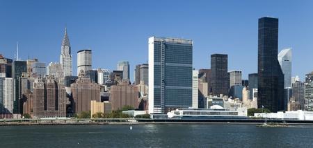 naciones unidas: The New York Uptown w Los edificios de las Naciones Unidas