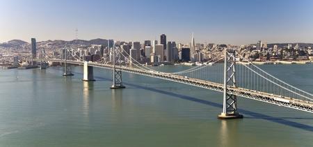 San Francisco Panorama with Bay bridge Stock Photo - 13590460