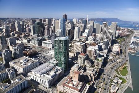 financial district: San Francisco Downtown, California Editorial